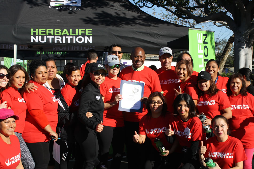 Herbalife Celebrates National Wear Red Day® with Group Workout