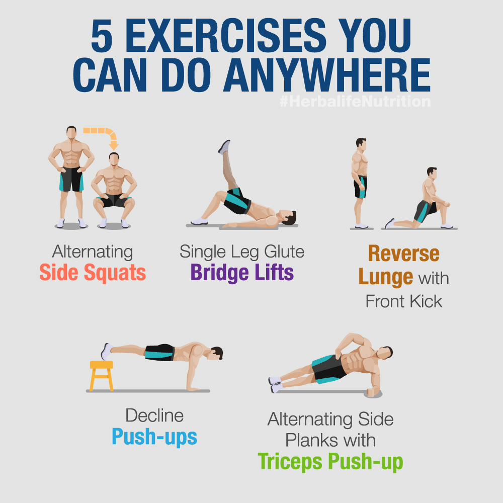 Exercise you can do anywhere