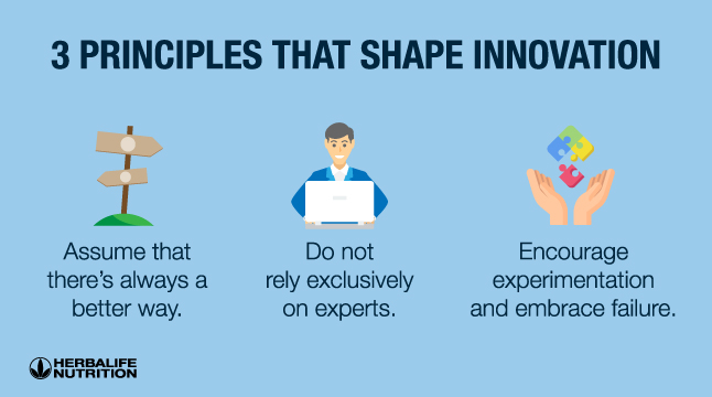 3 Principles Shape Innovation
