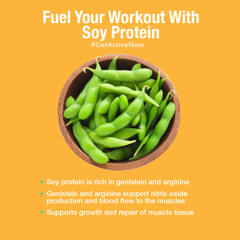 Soy Benefits of Arginine
