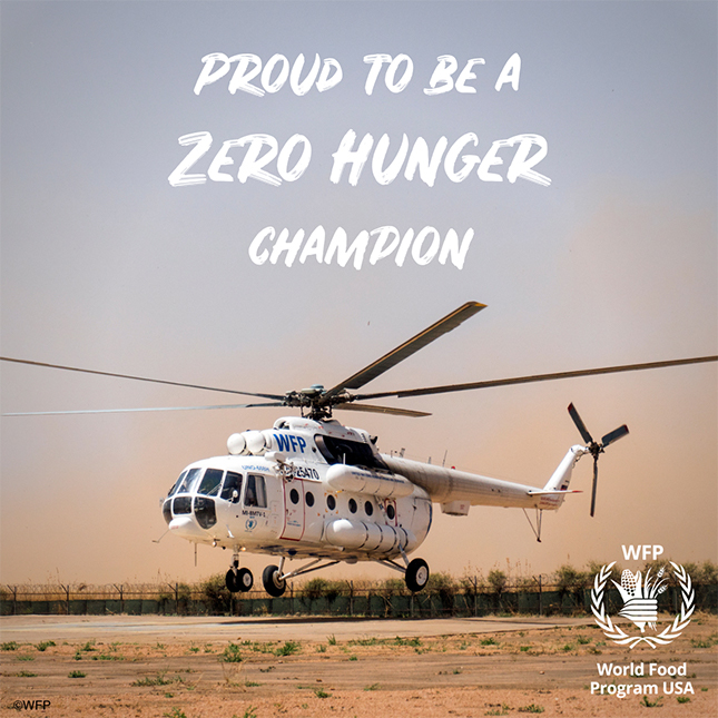 Herbalife Nutrition proud to be a Zero Hunger Champion
