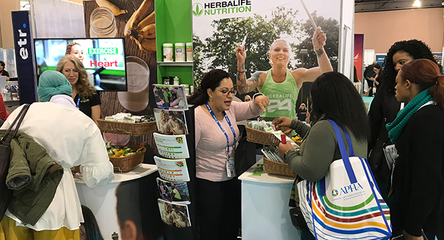 Herbalife Nutrition Booth at the APHA
