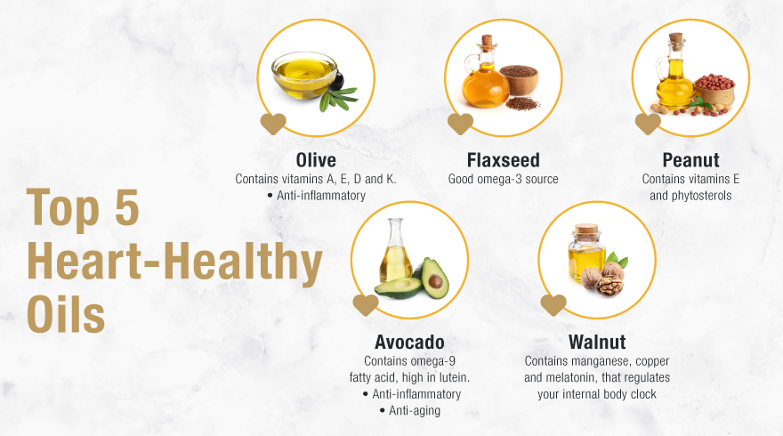 Heart Healthy Oils