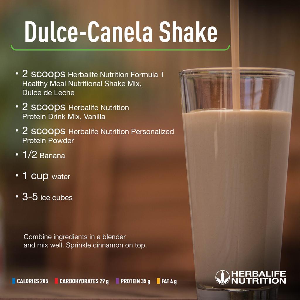 Dulce Canela Shake