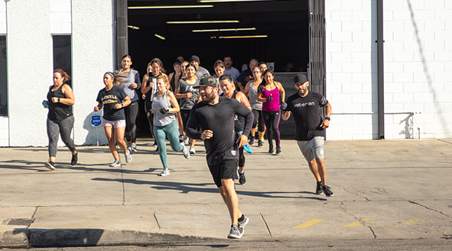 Herbalife Nutrition customers go for a jog