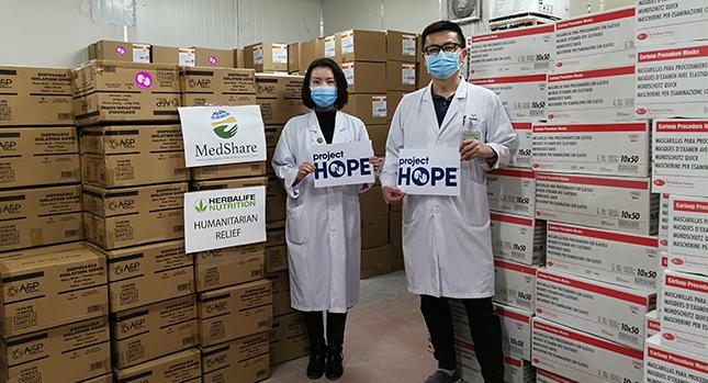 Medshare Herbalife Nutrition Humanitarian Relief