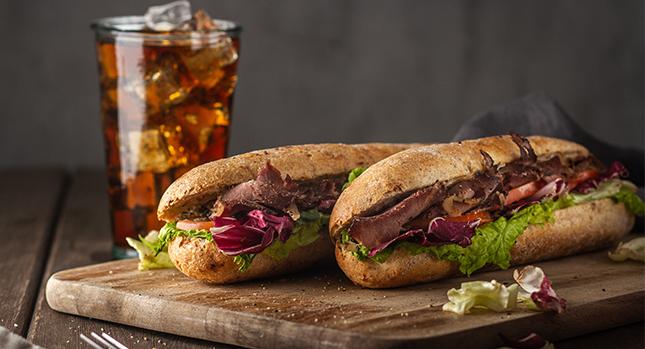 Subway Sandwich Diet