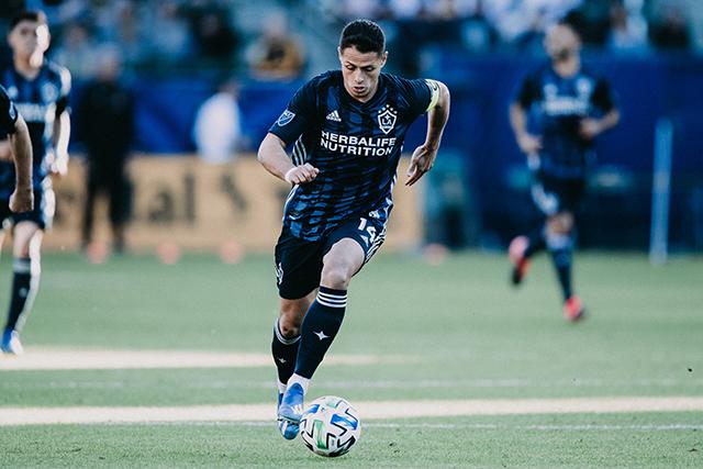 An LA Galaxy Player