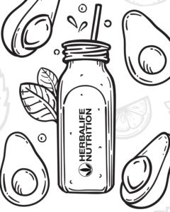 Herbalife Nutrition coloring book 2