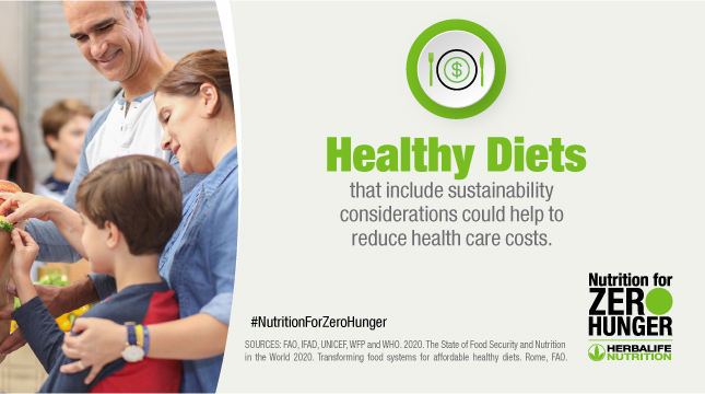 Sustainable healthy diets