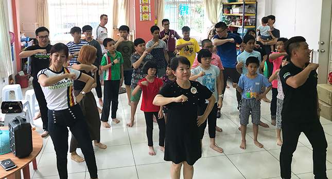 Encouraging dance and physical activity as part of a children's education program