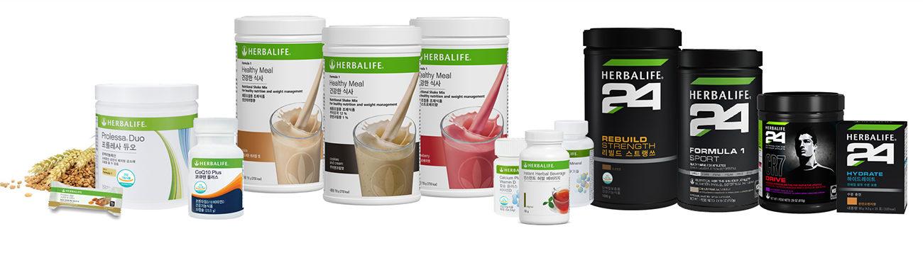Herbalife Korea Products