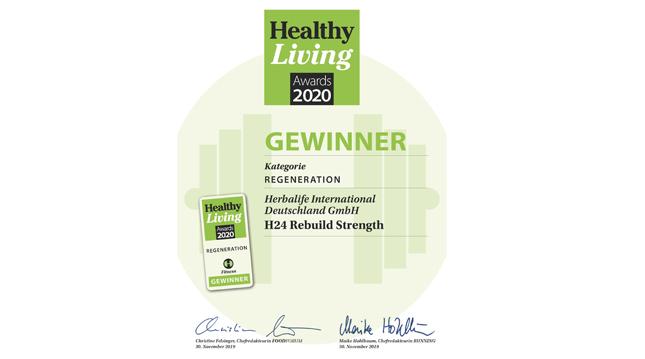 Healthy Living Award