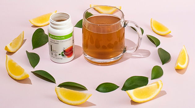 Herbalife tea concentrate with lemon