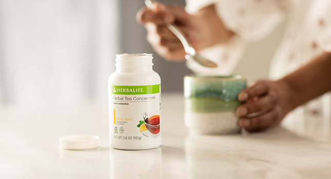 Using Herbalife Tea Concentrate at home