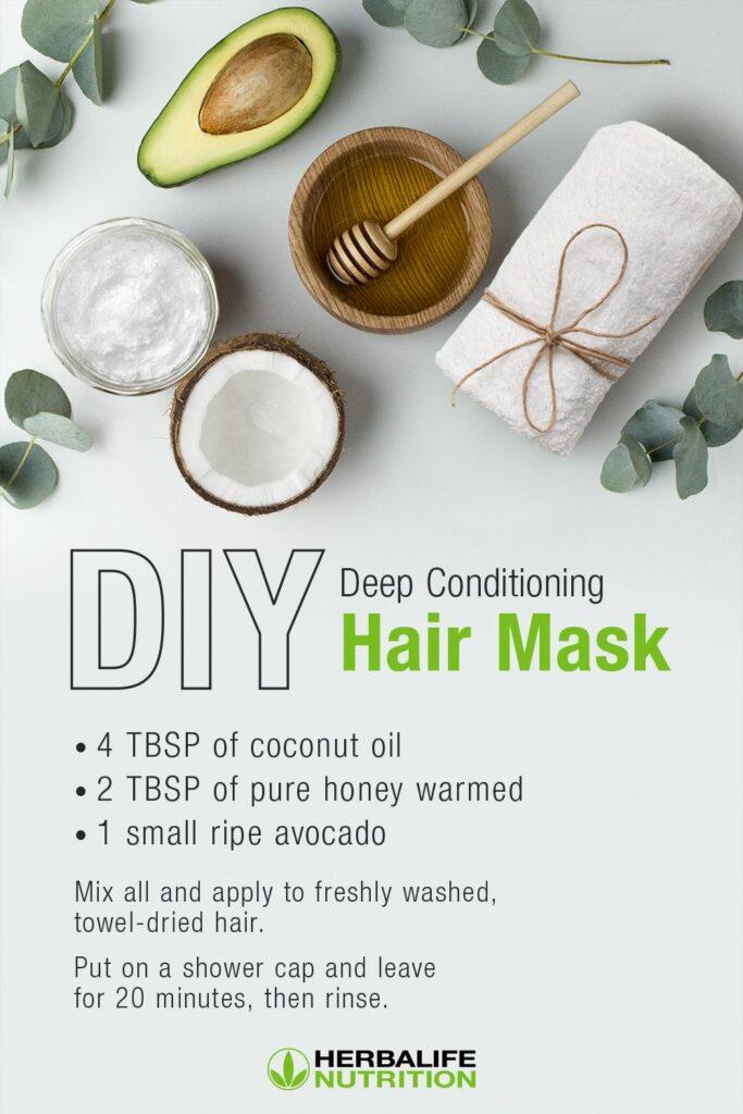 Herbalife DIY Deep Conditioning Hair Mask