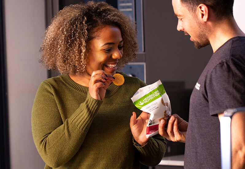 Introducing Our New Savory Snack Alternative: Protein Chips